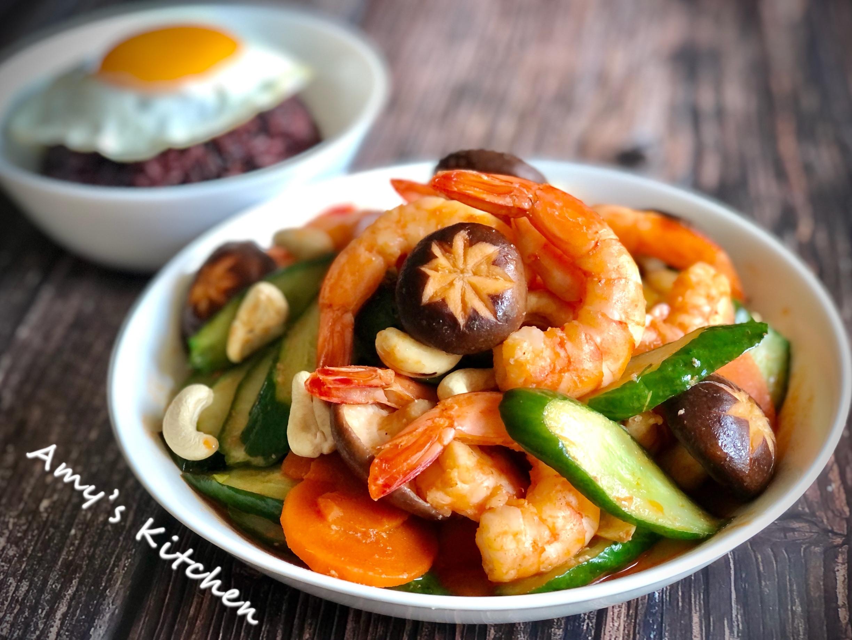 清炒腰果蝦仁  (鮮蝦)