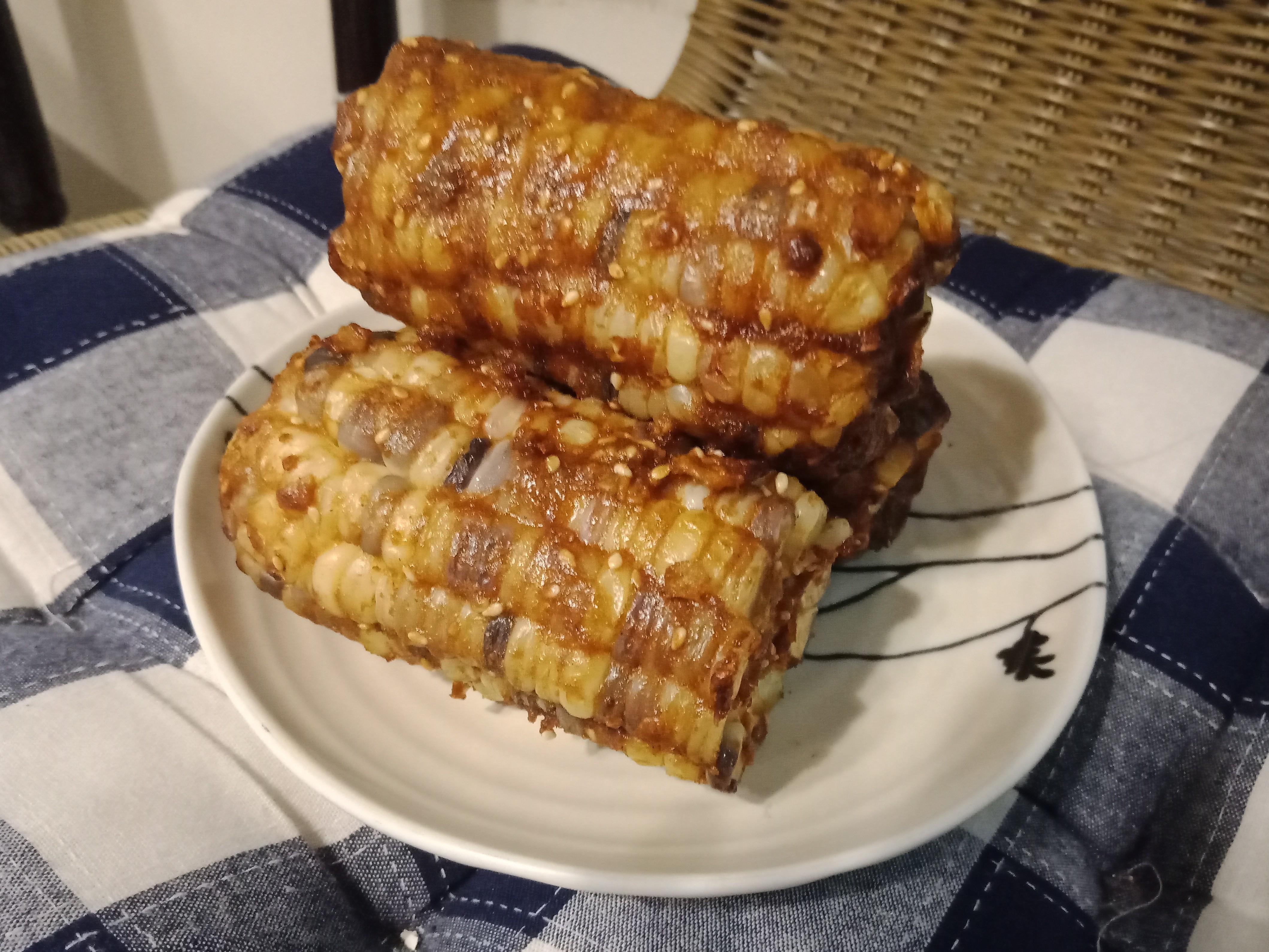 【緊張的】玉米脆片氣炸烤玉米🌽