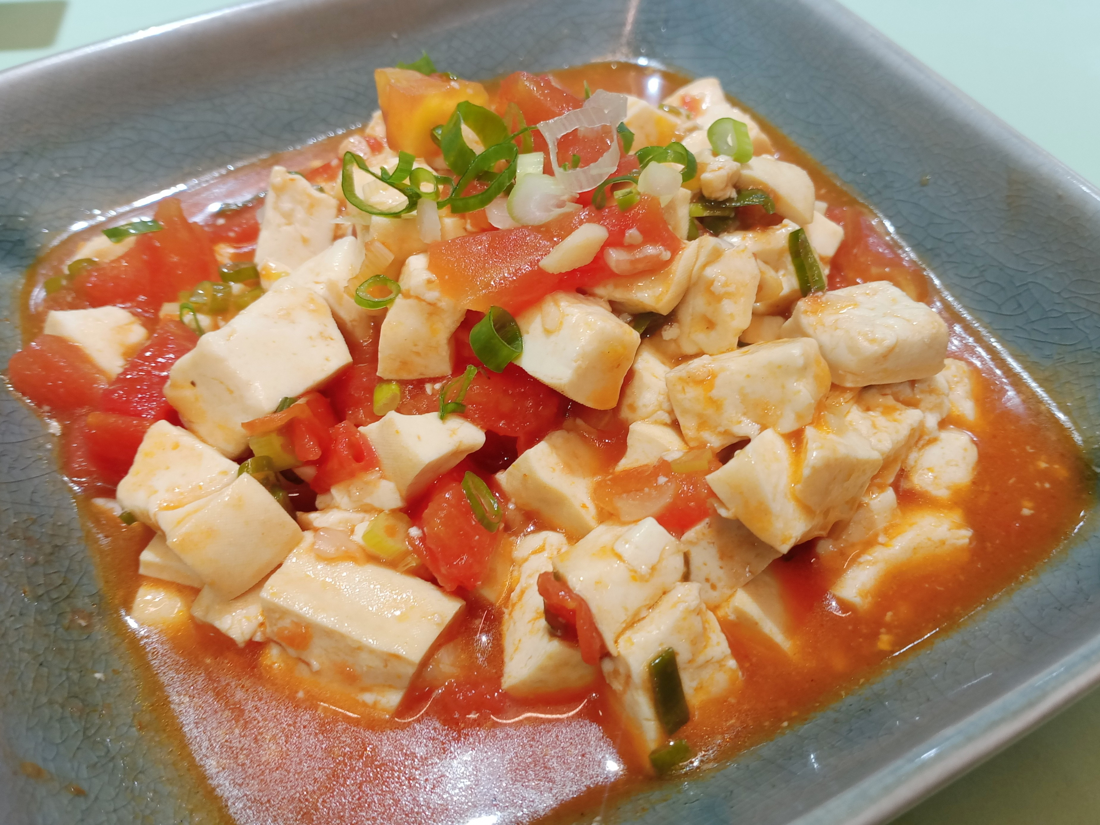 快手菜-番茄燴豆腐