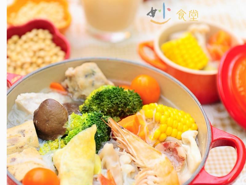 年菜必備─台式豆漿雜菜火鍋