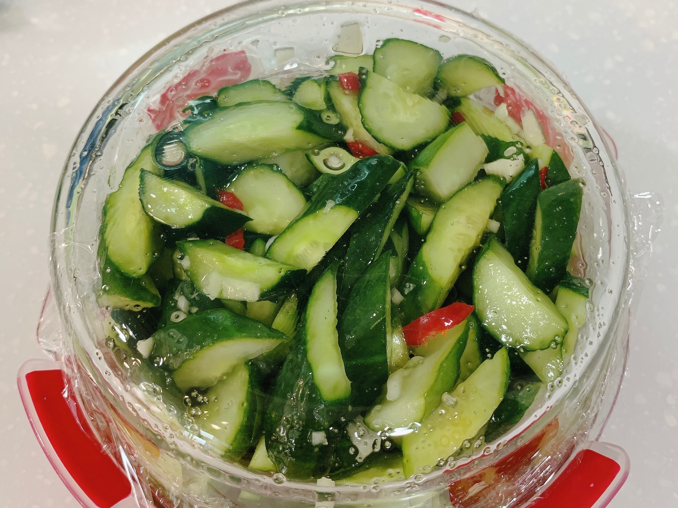 涼拌小黃瓜 ( 檸檬 )