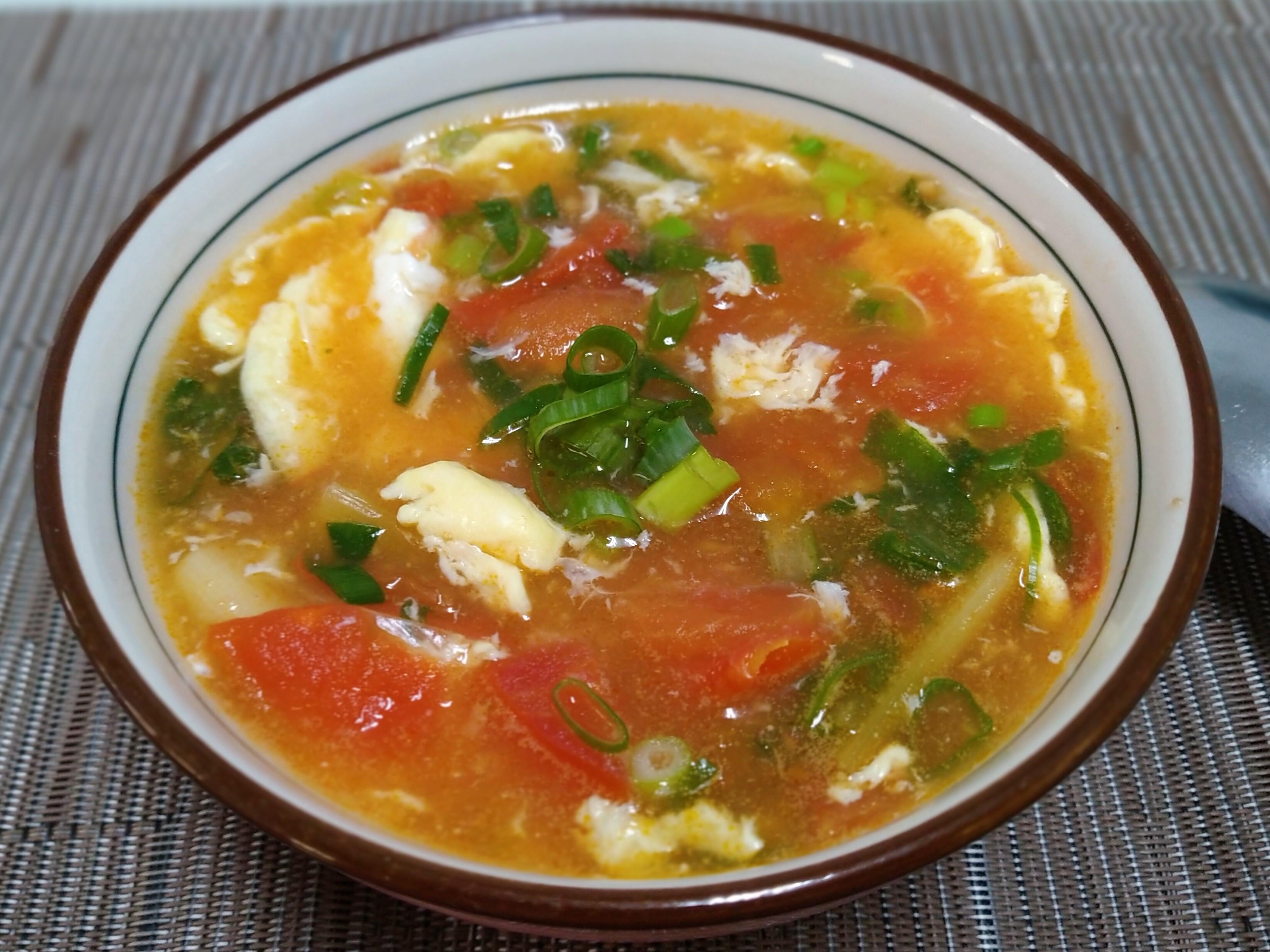 好男人料理-蕃茄雞蛋湯