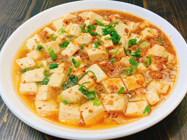 快速料理肉醬燒豆腐