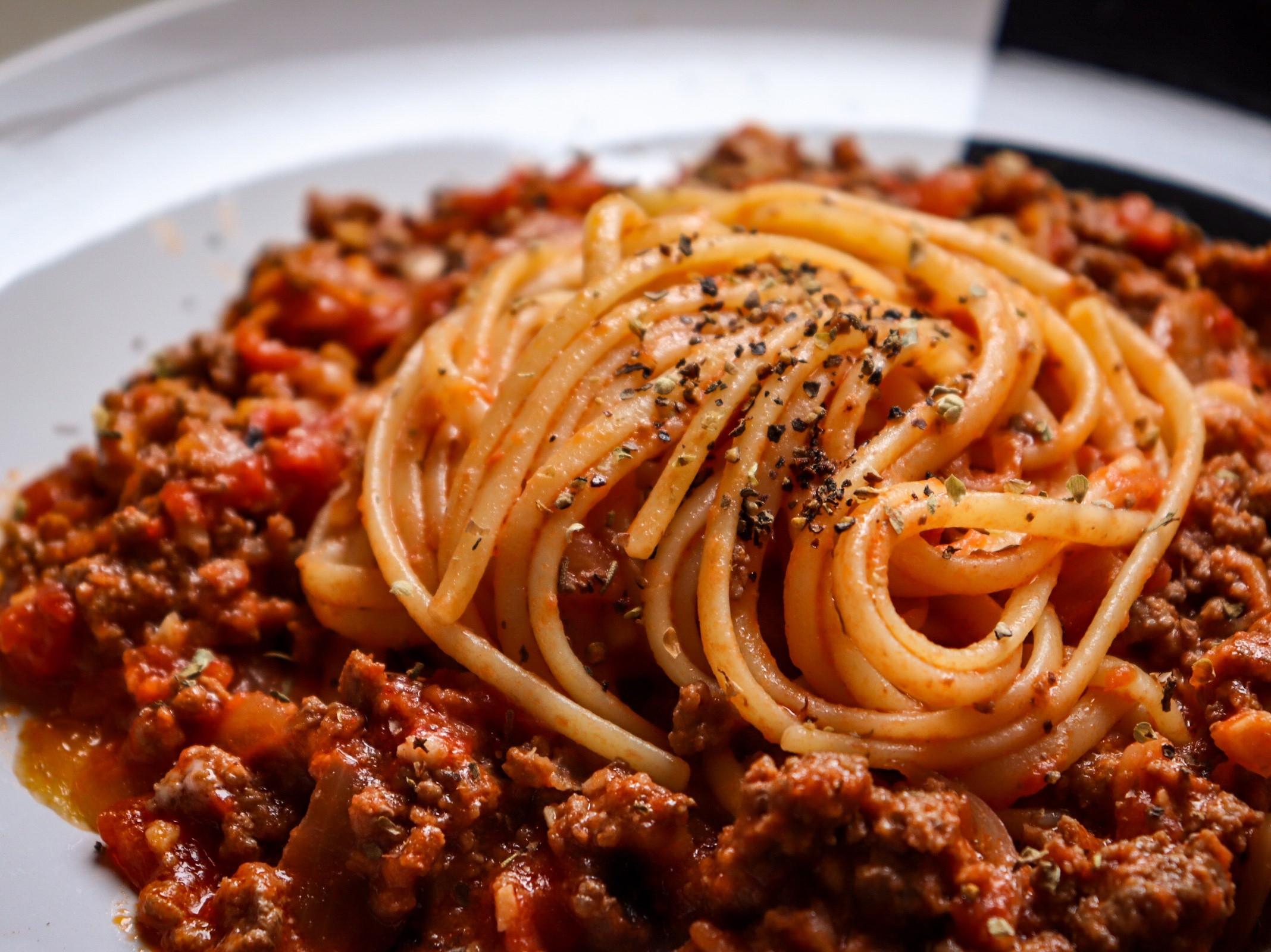 番茄🍅肉醬義大利麵🍝
