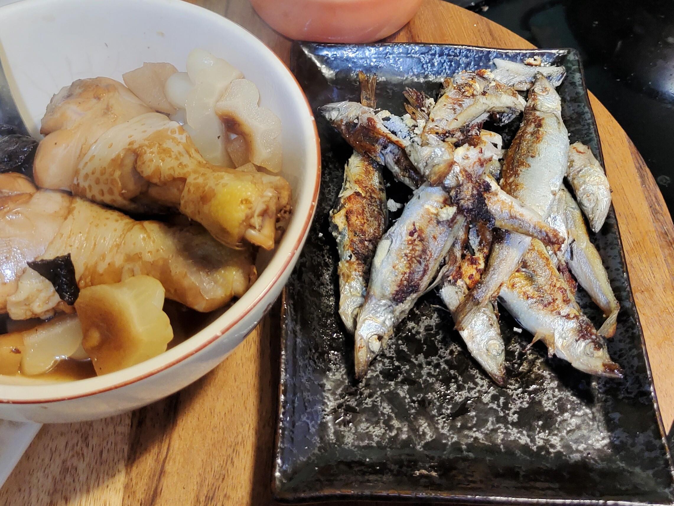 防疫快速料理~~乾煎柳葉魚