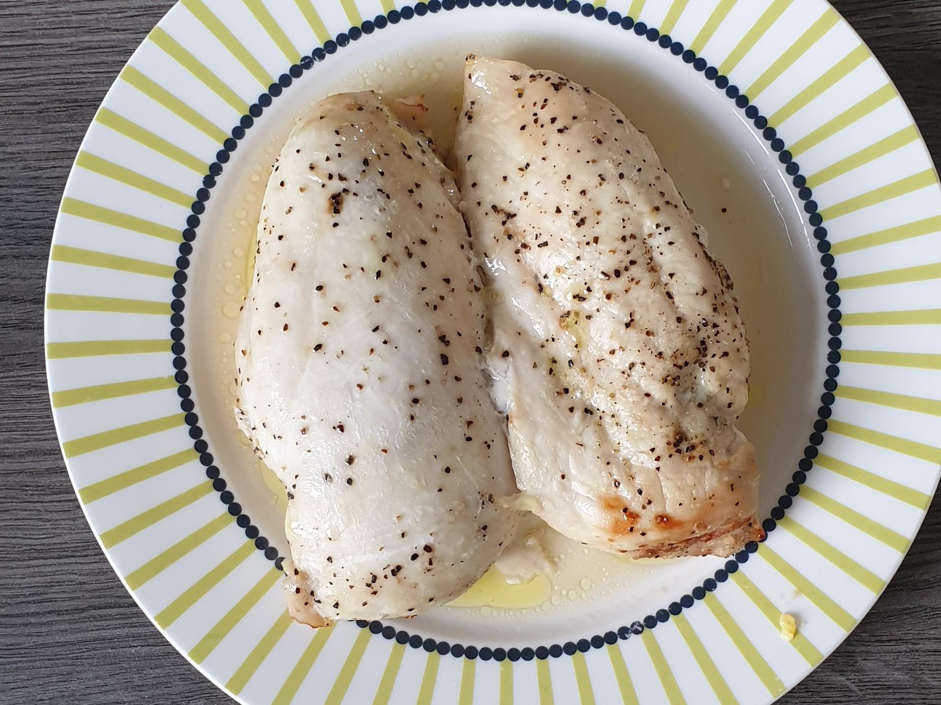 超簡單料理-氣炸雞胸肉