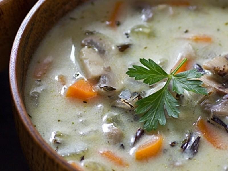 大肚皮Jason主廚‧真男人廚房-野米蘑菇蔬菜濃湯