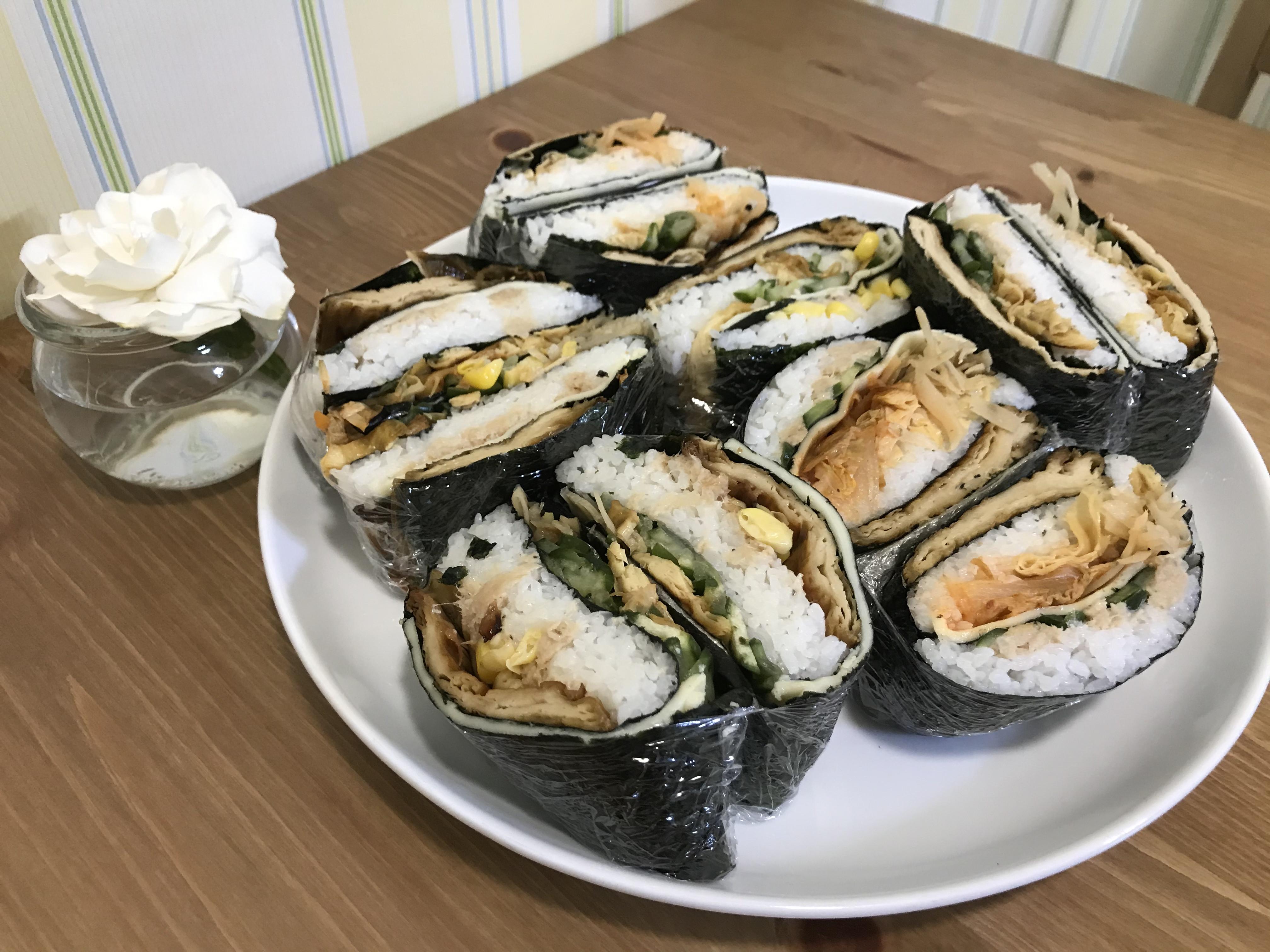 摺疊海苔包飯(奶素)