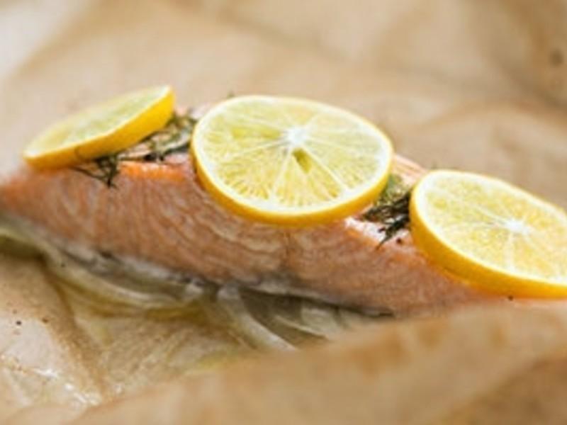 【大肚皮Jason主廚‧真男人廚房】紙包檸檬烤鮭魚