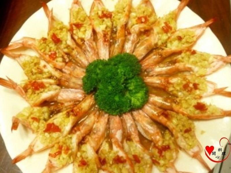 蒜蓉開邊蝦