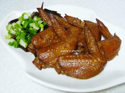 <大吟釀薄鹽醬油>滷雞翅