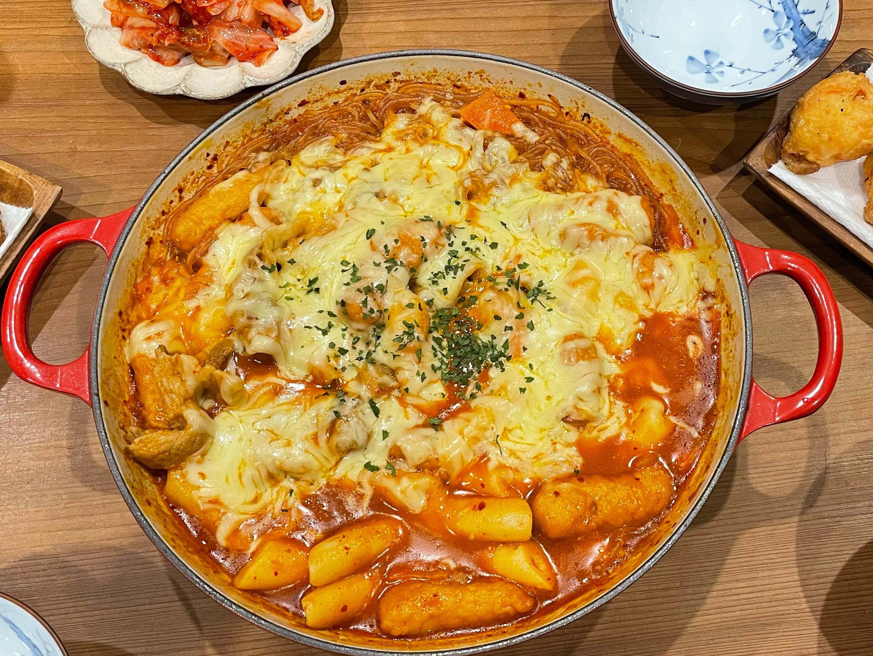 韓式起司年糕