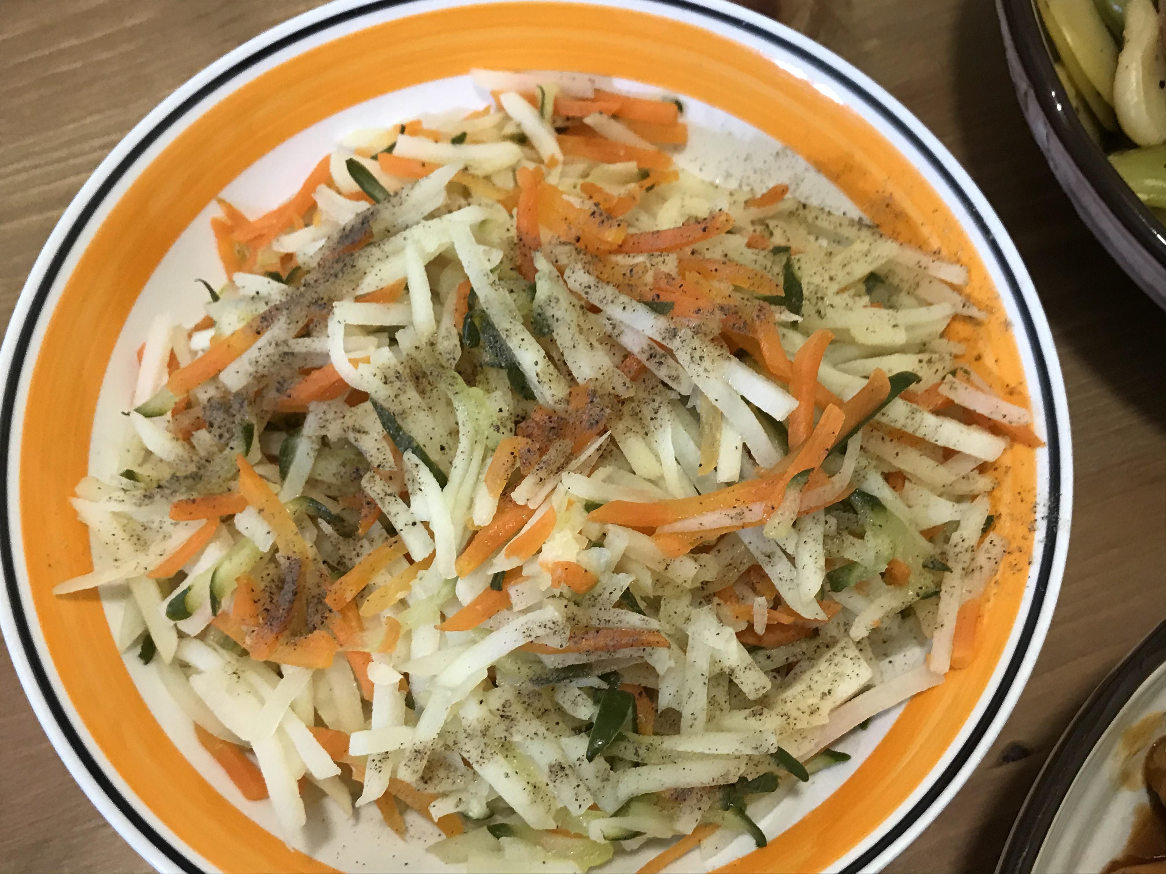 清炒馬鈴薯絲(全素)