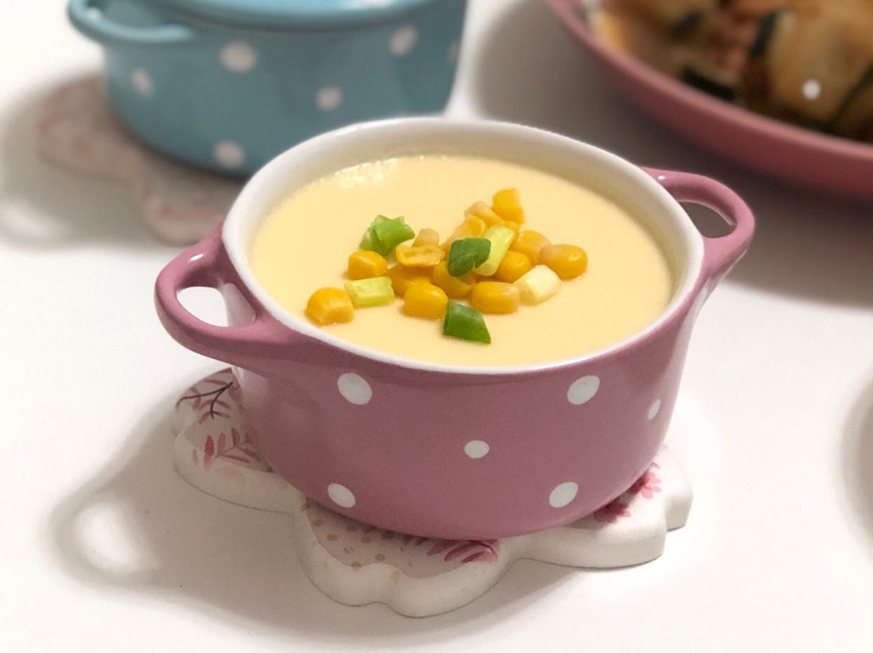 滑嫩蒸蛋-簡單好做又好吃的電鍋料理