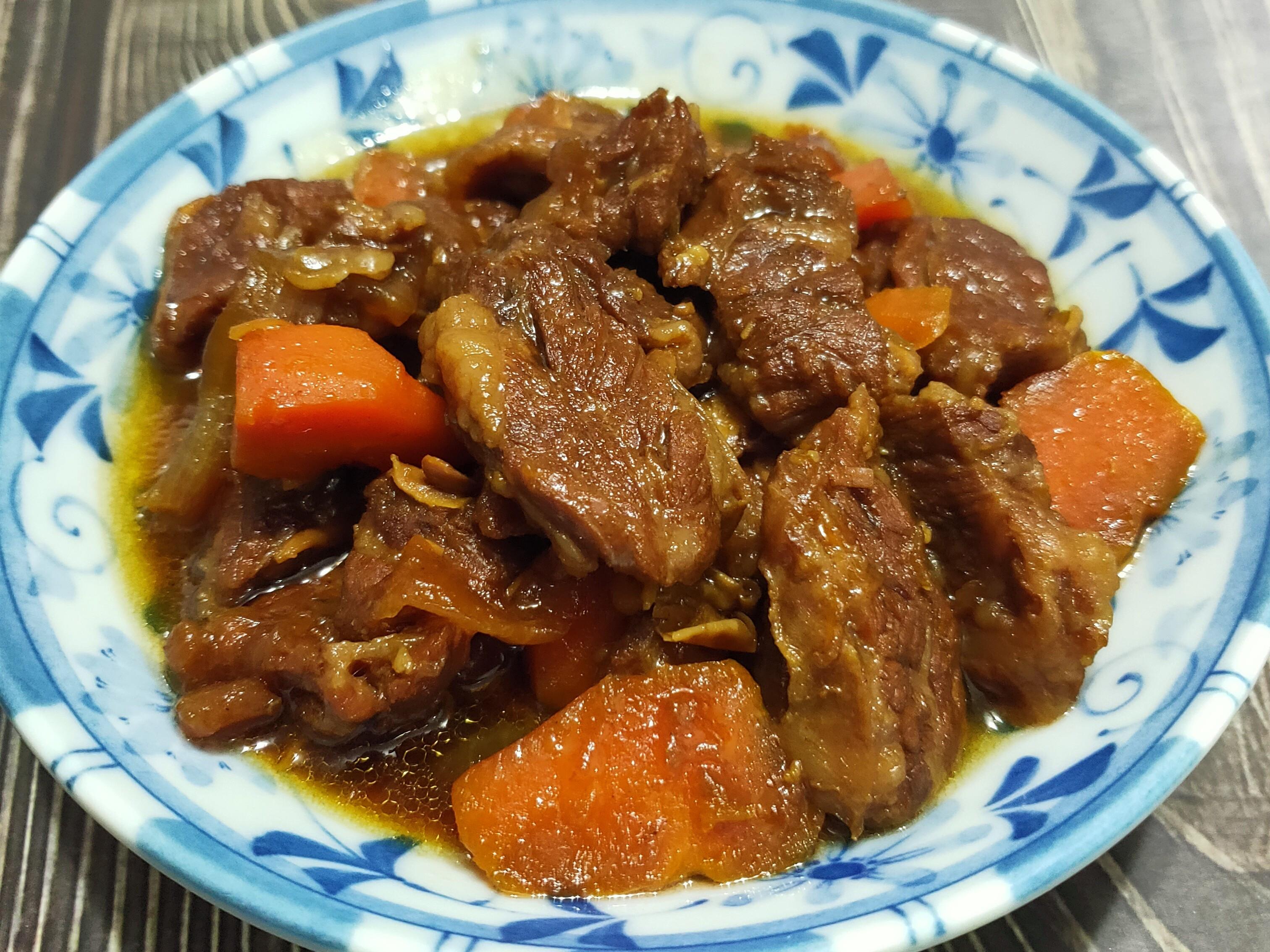 紅燒牛肉(鑄鐵鍋版)