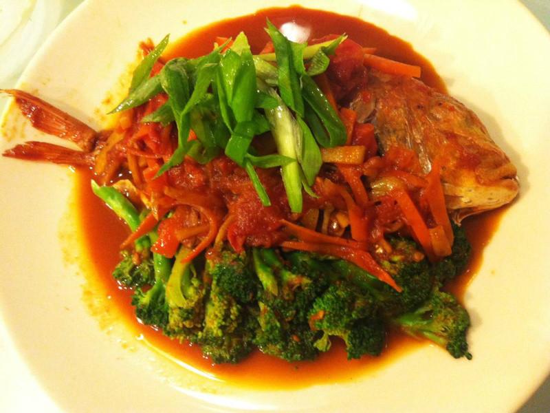 蕃茄醬燒赤魚鯮