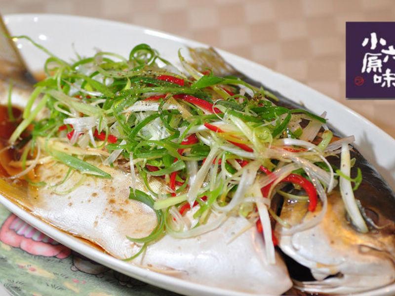 【輕鬆做年菜】清蒸金鯧魚