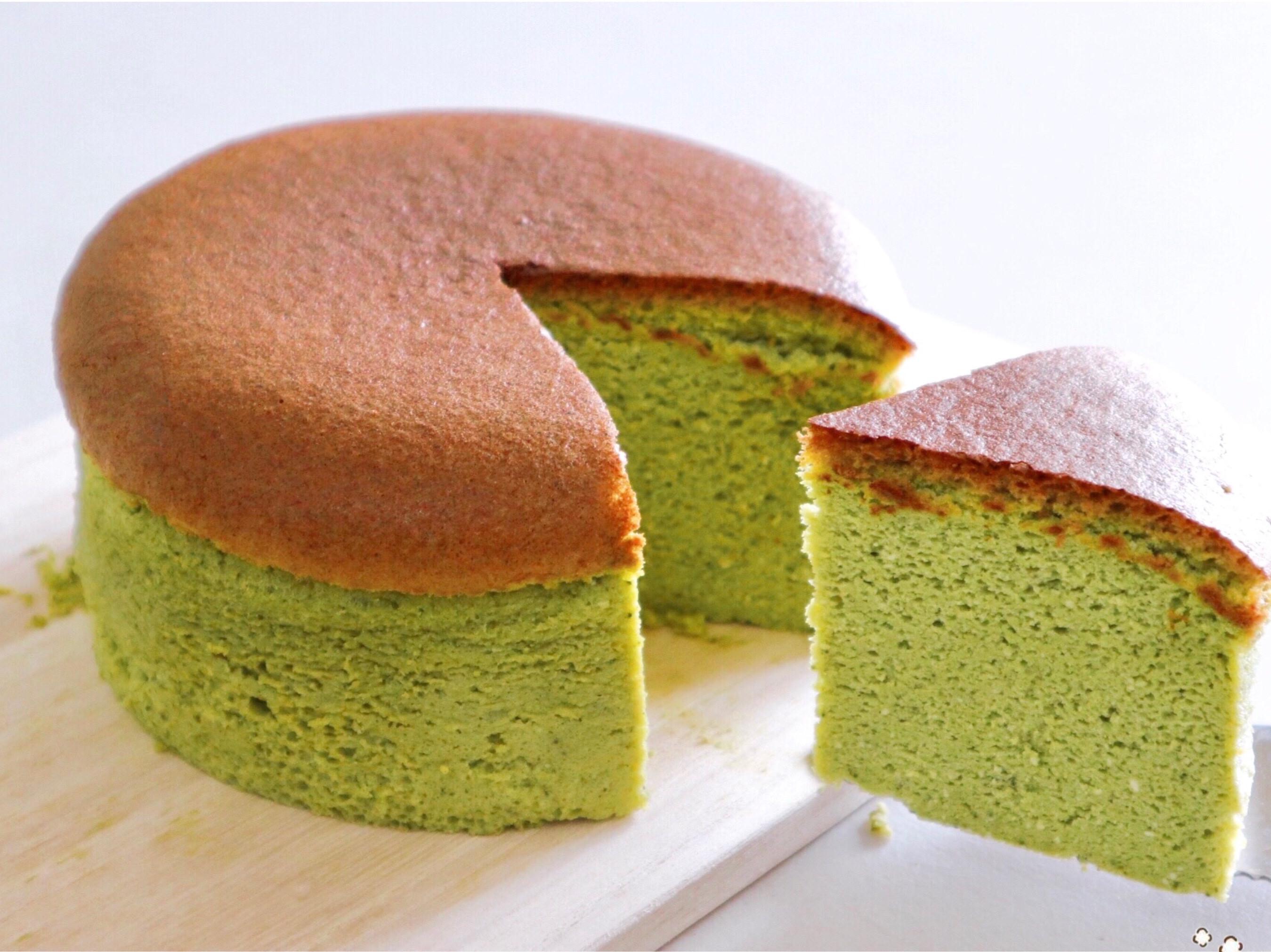 入口即化 ♪ 抹茶日式起司蛋糕 🍵