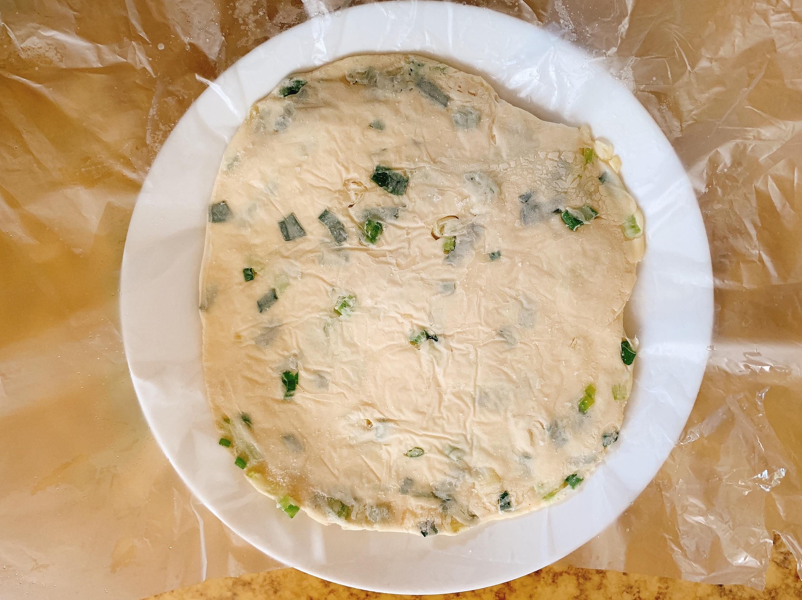 【五辛素】自製冷凍蔥油餅