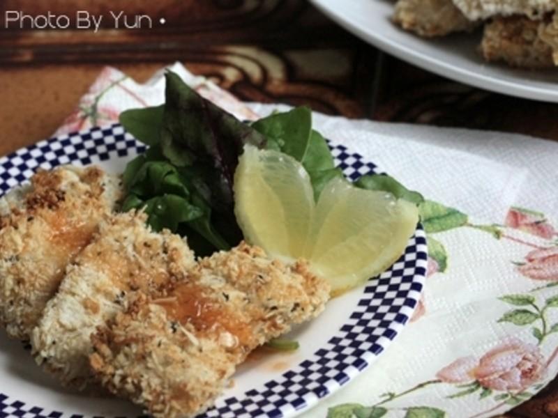 [Yun。在廚房]脆皮帕馬森雞塊