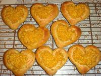 寒天玉米愛心麵包