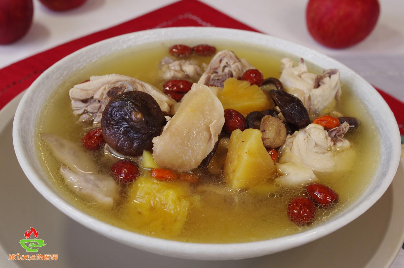 【鳳蘋雞湯】是喚醒慵懶味蕾的興奮劑!