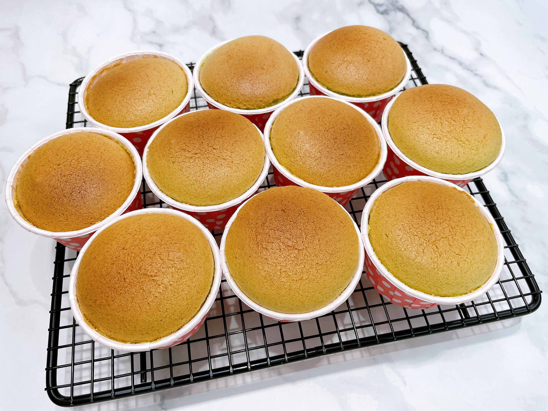 斑蘭戚風杯子蛋糕🧁