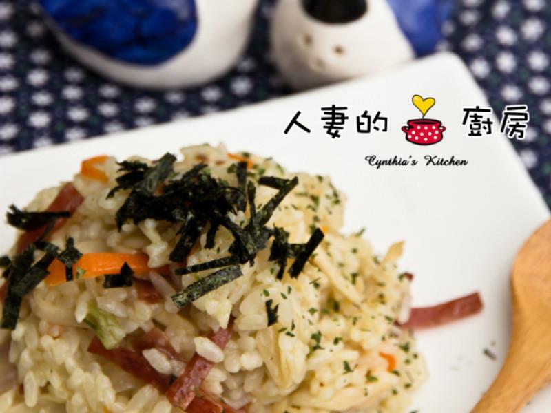 【人妻的廚房】基礎燉飯