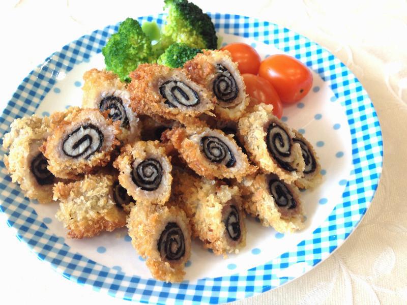 海苔豚肉卷