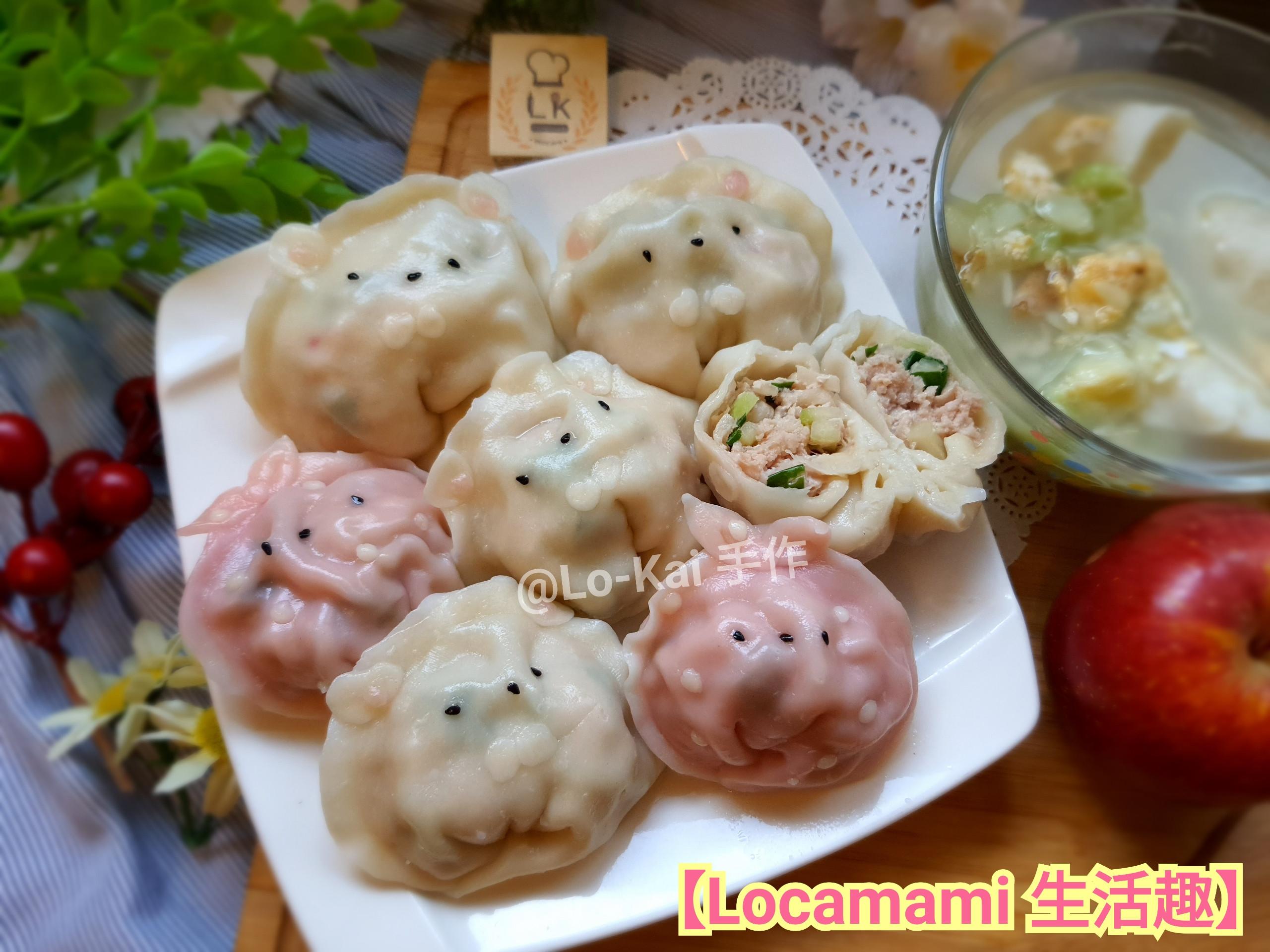 【親子料理】瓠瓜水餃