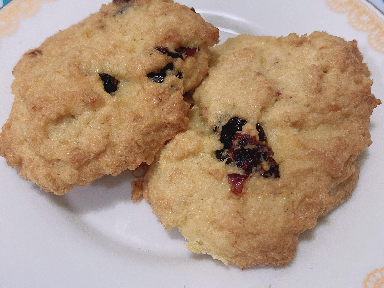 豆渣蔓越莓餅乾