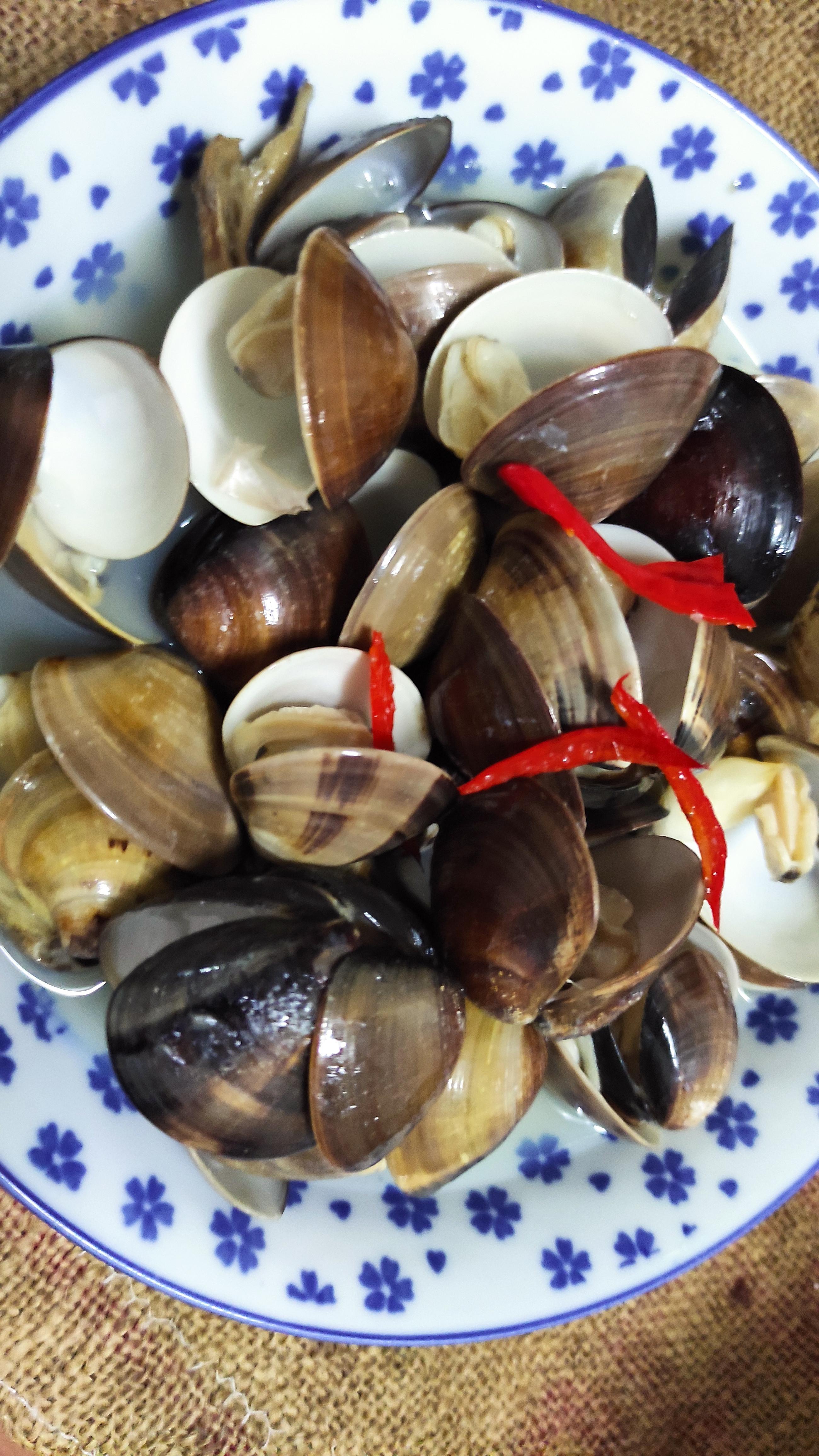清蒸酒香蛤蜊