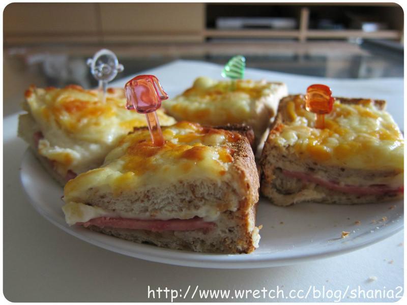好吃的火腿cheese土司