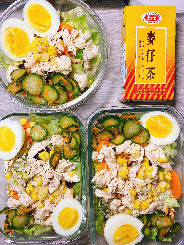 超簡單! 簡易版沙拉