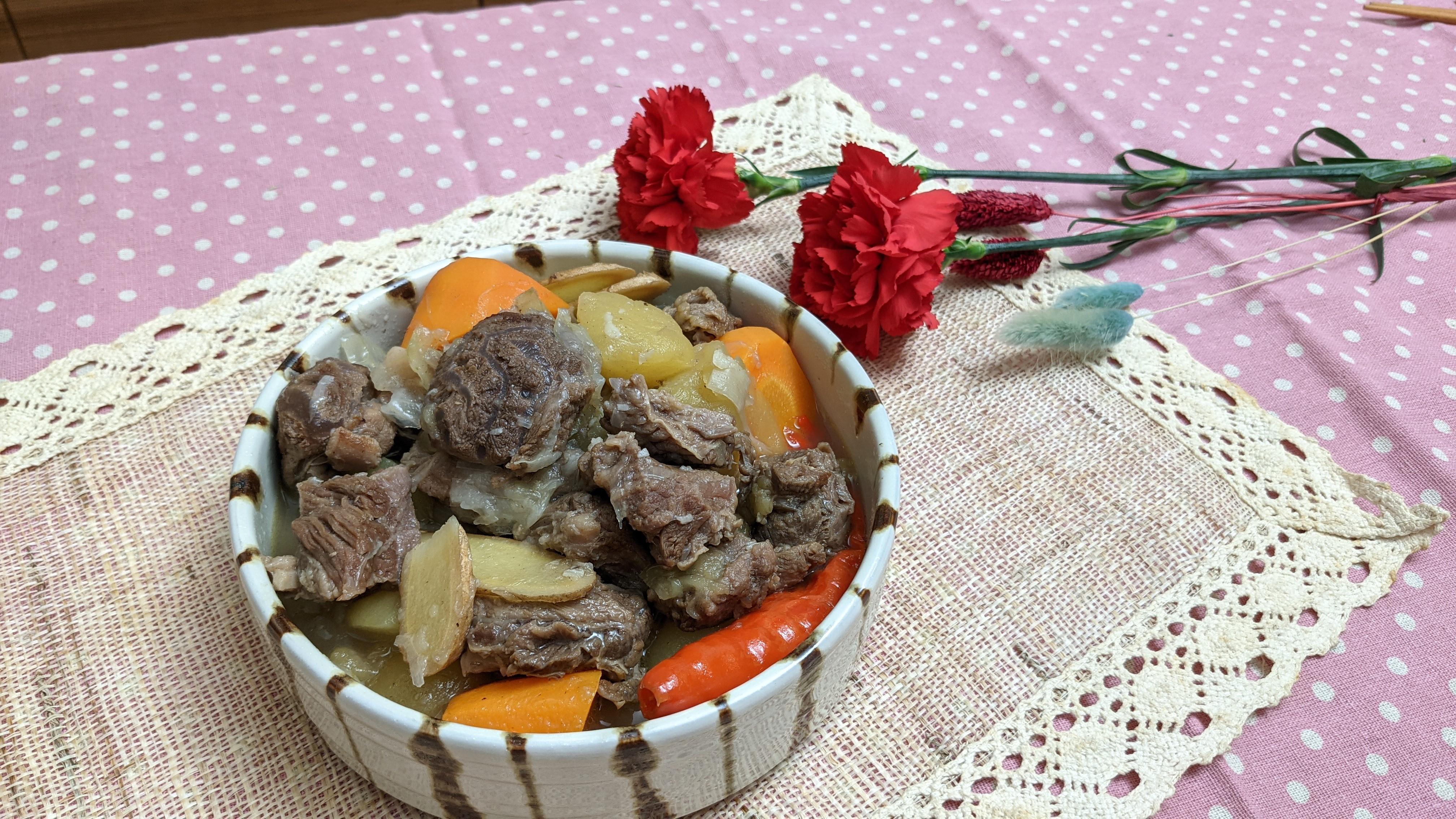 蘋果燉牛肉