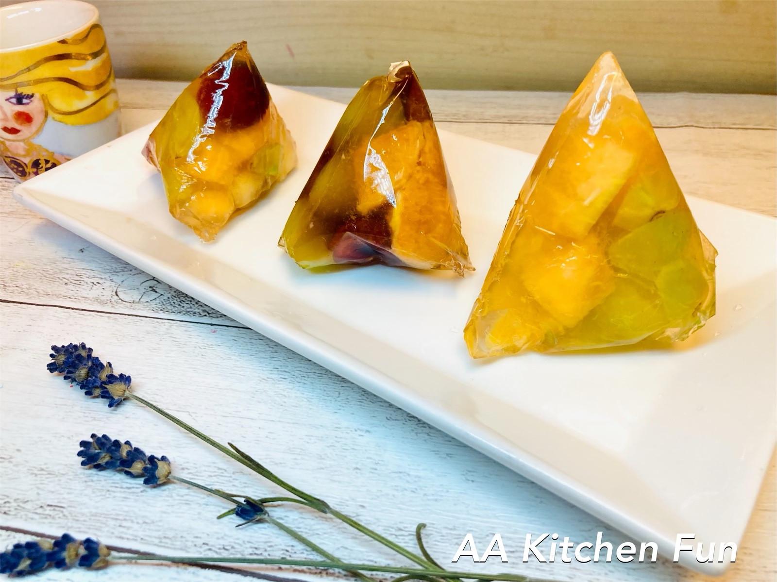 【親子共廚】端午節夏日甜品水晶果凍粽