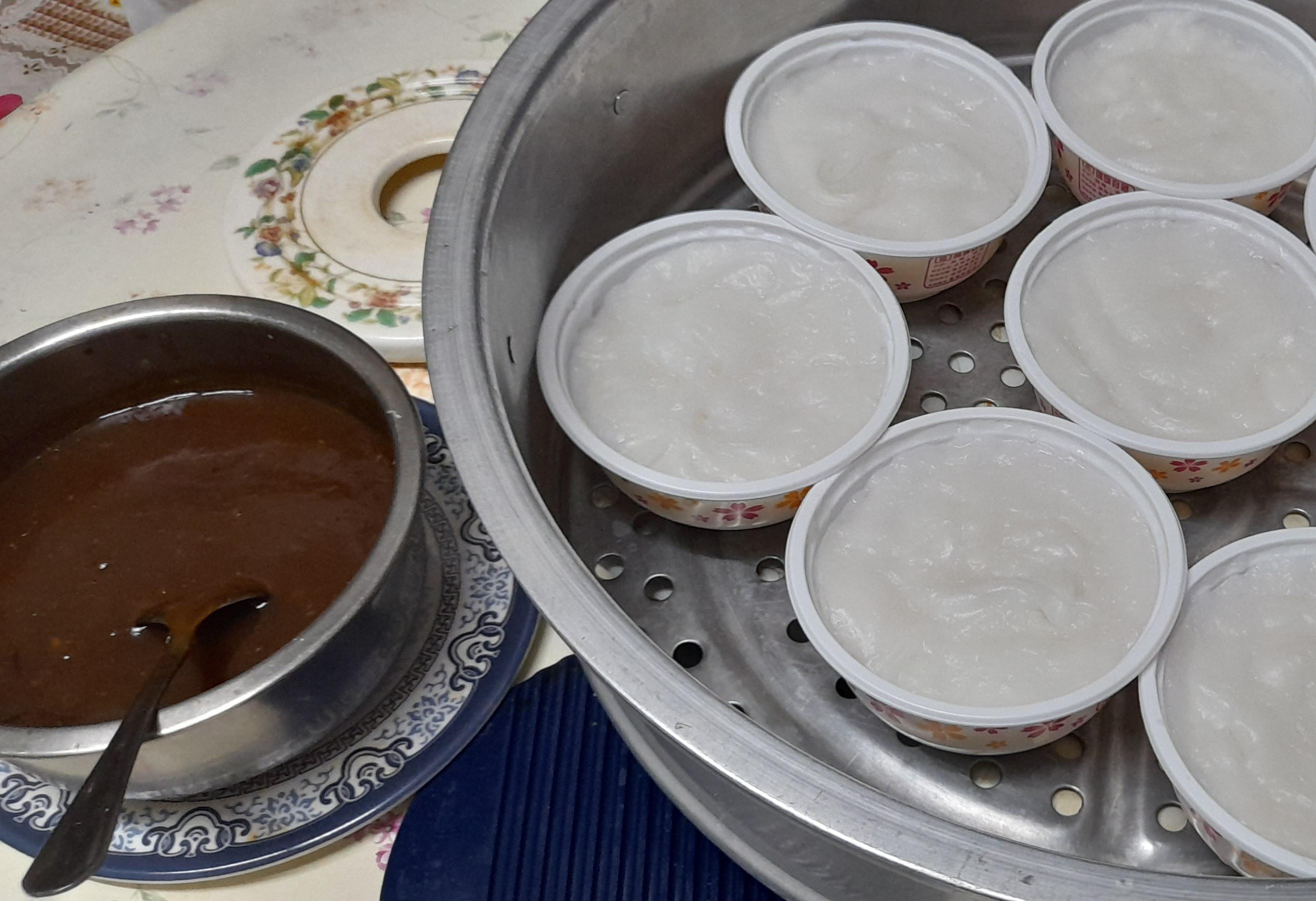 做一次,可用三餐~碗粿
