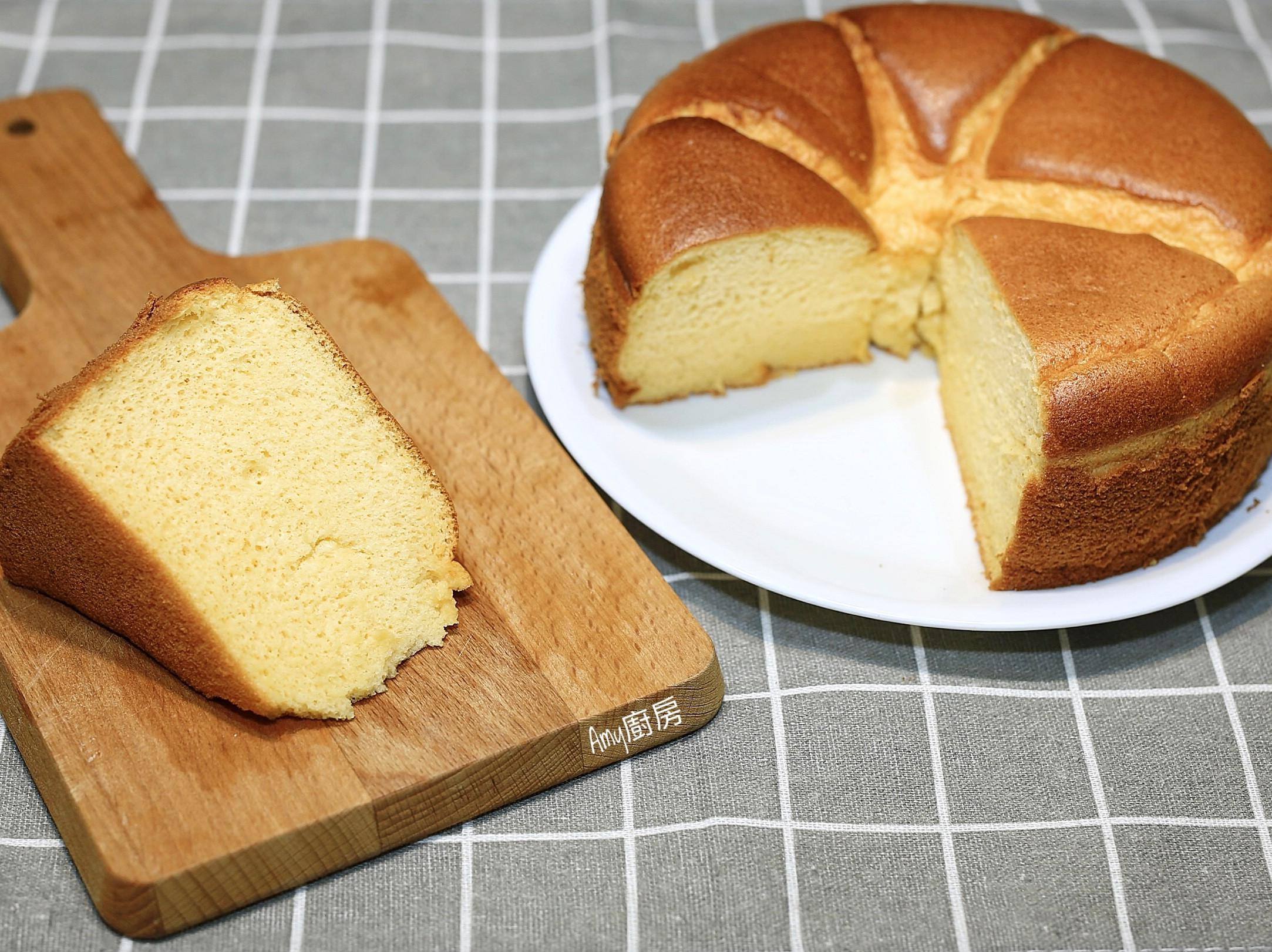 蜂蜜戚風蛋糕(減糖配方)