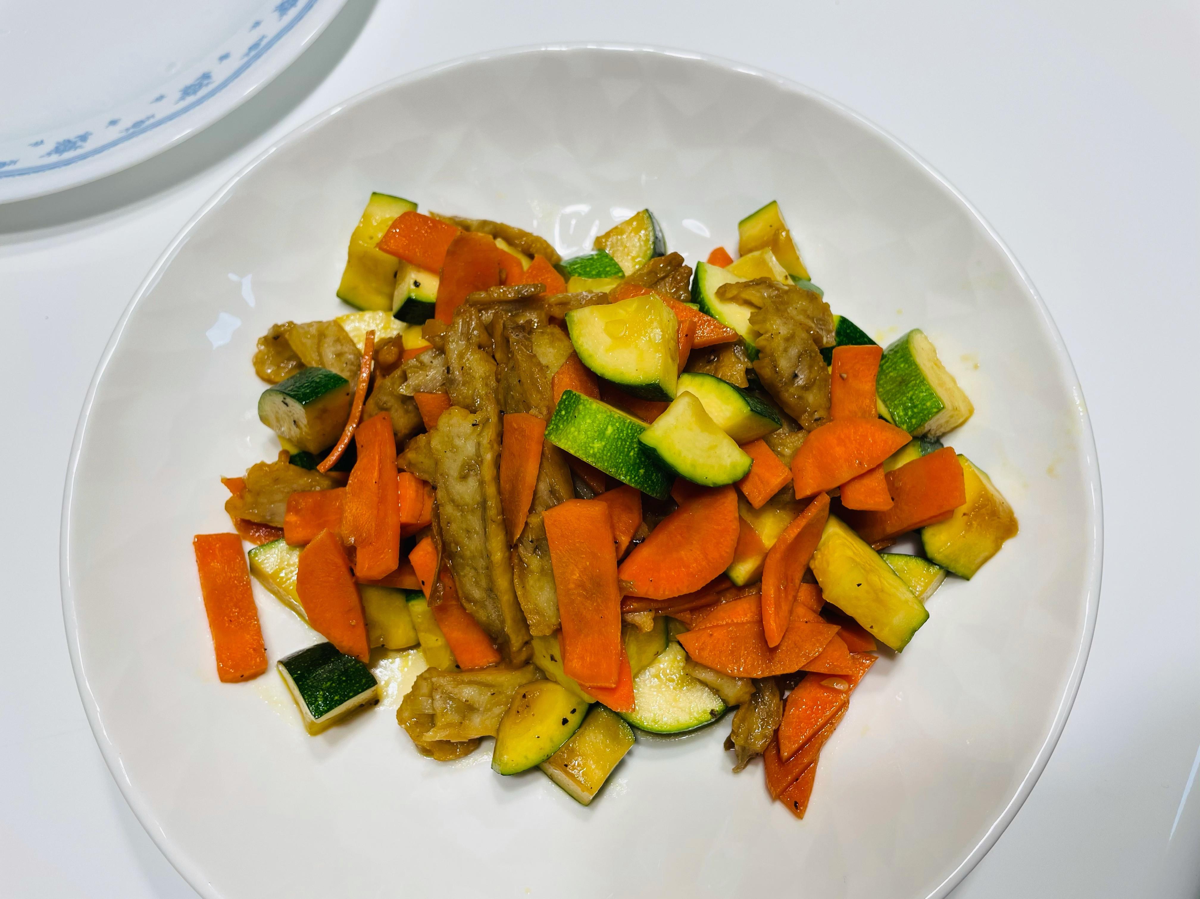 醬燒炒櫛瓜