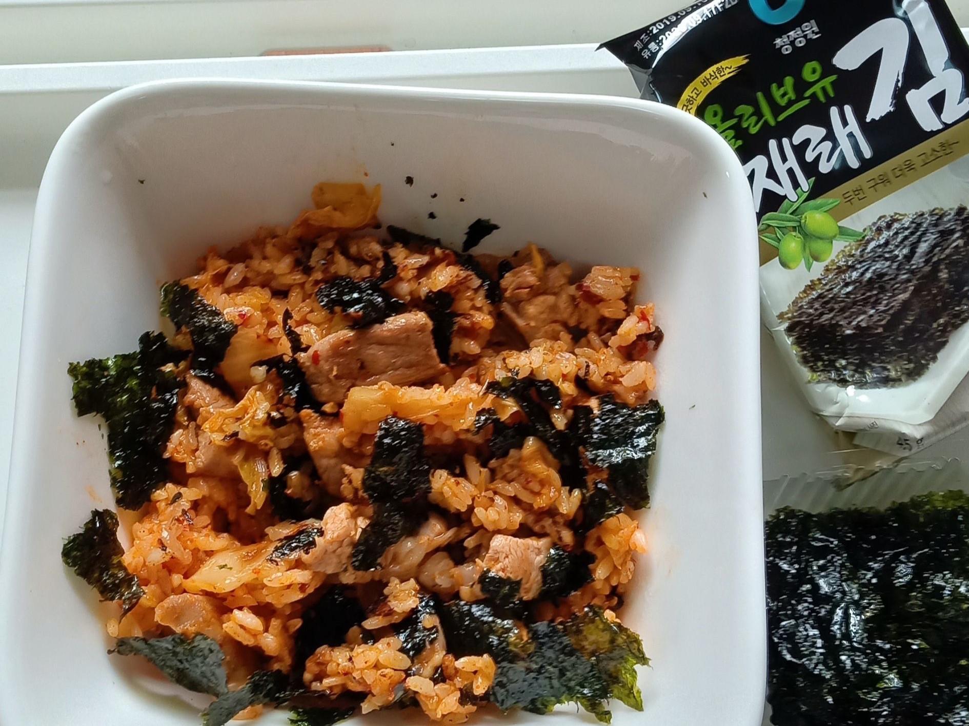 韓式泡菜五花肉炒飯