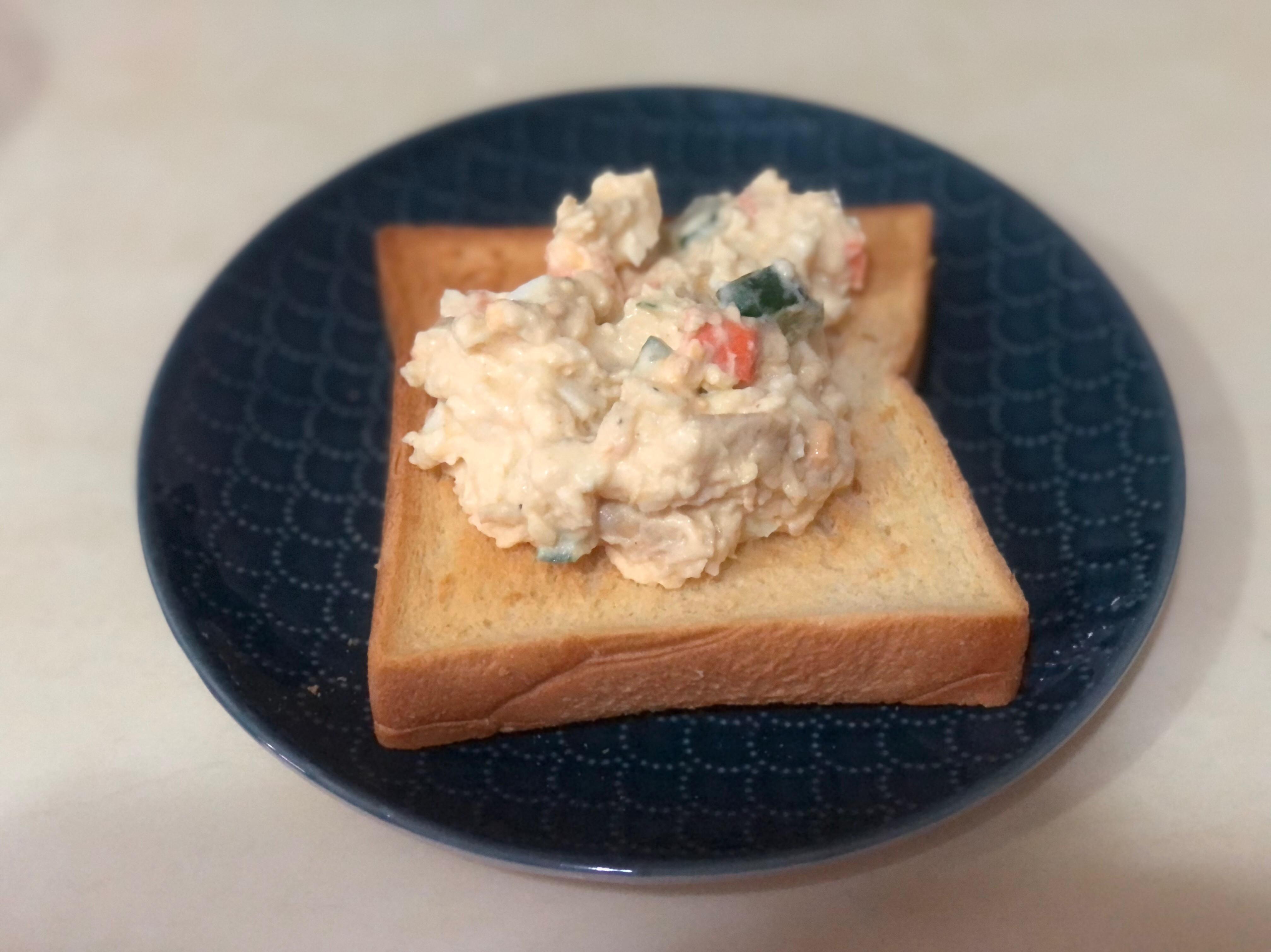 簡單馬鈴薯蛋沙拉