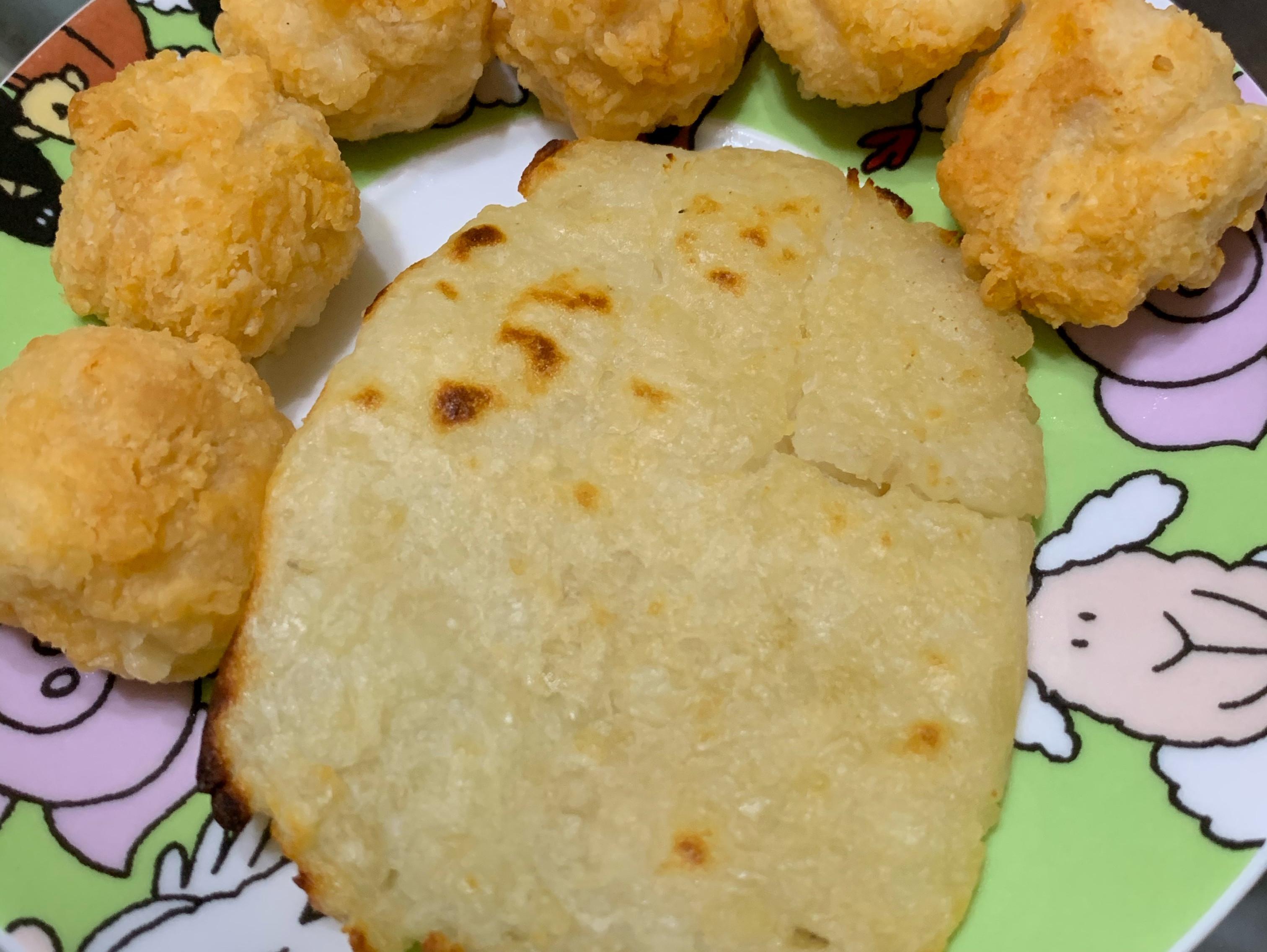 簡單做薯餅