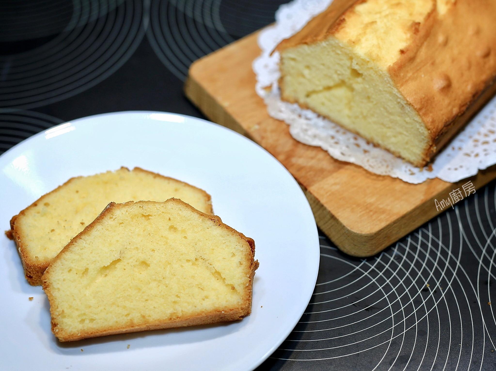 經典奶油磅蛋糕