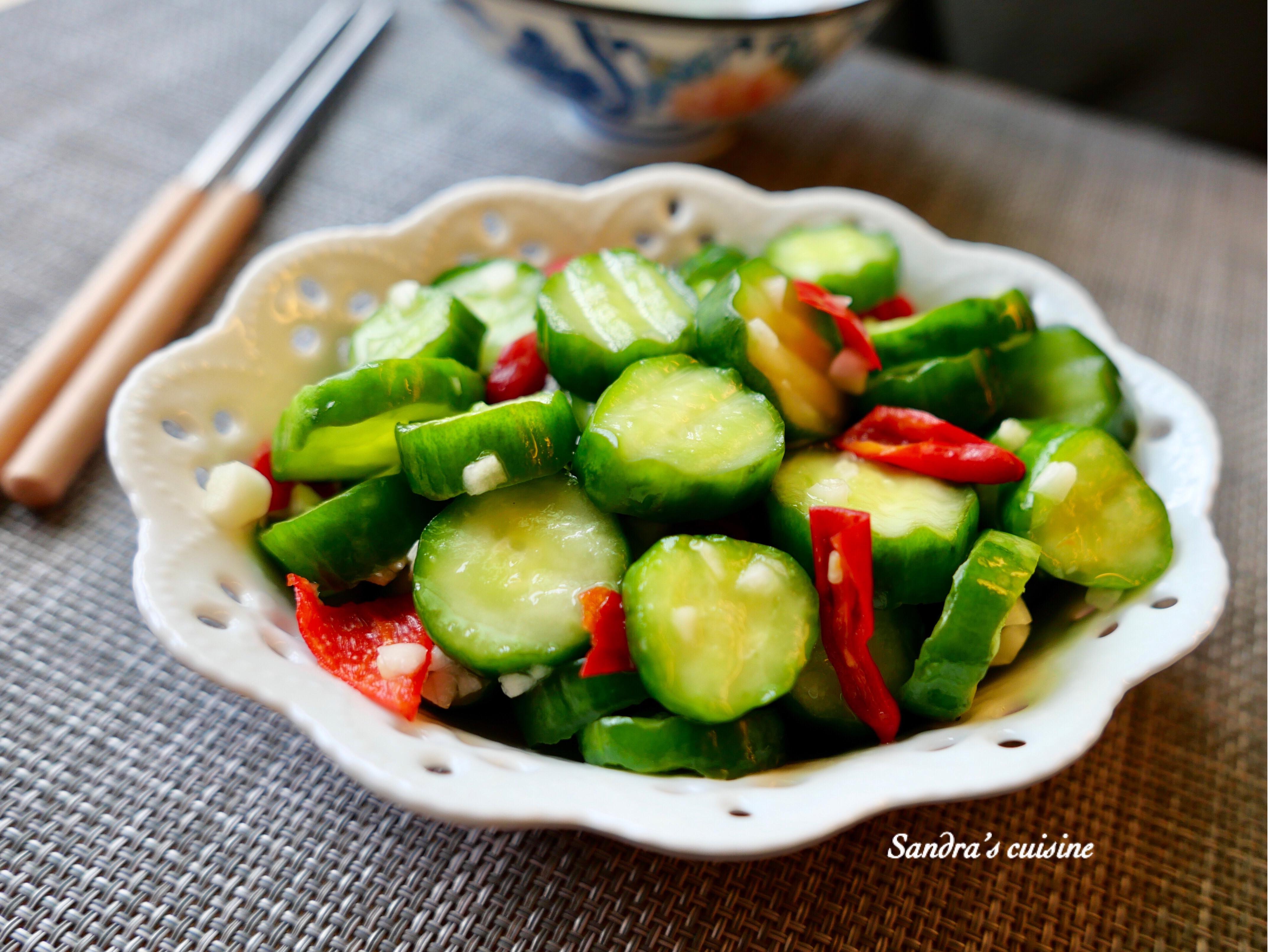 香檸小黃瓜(涼拌菜)