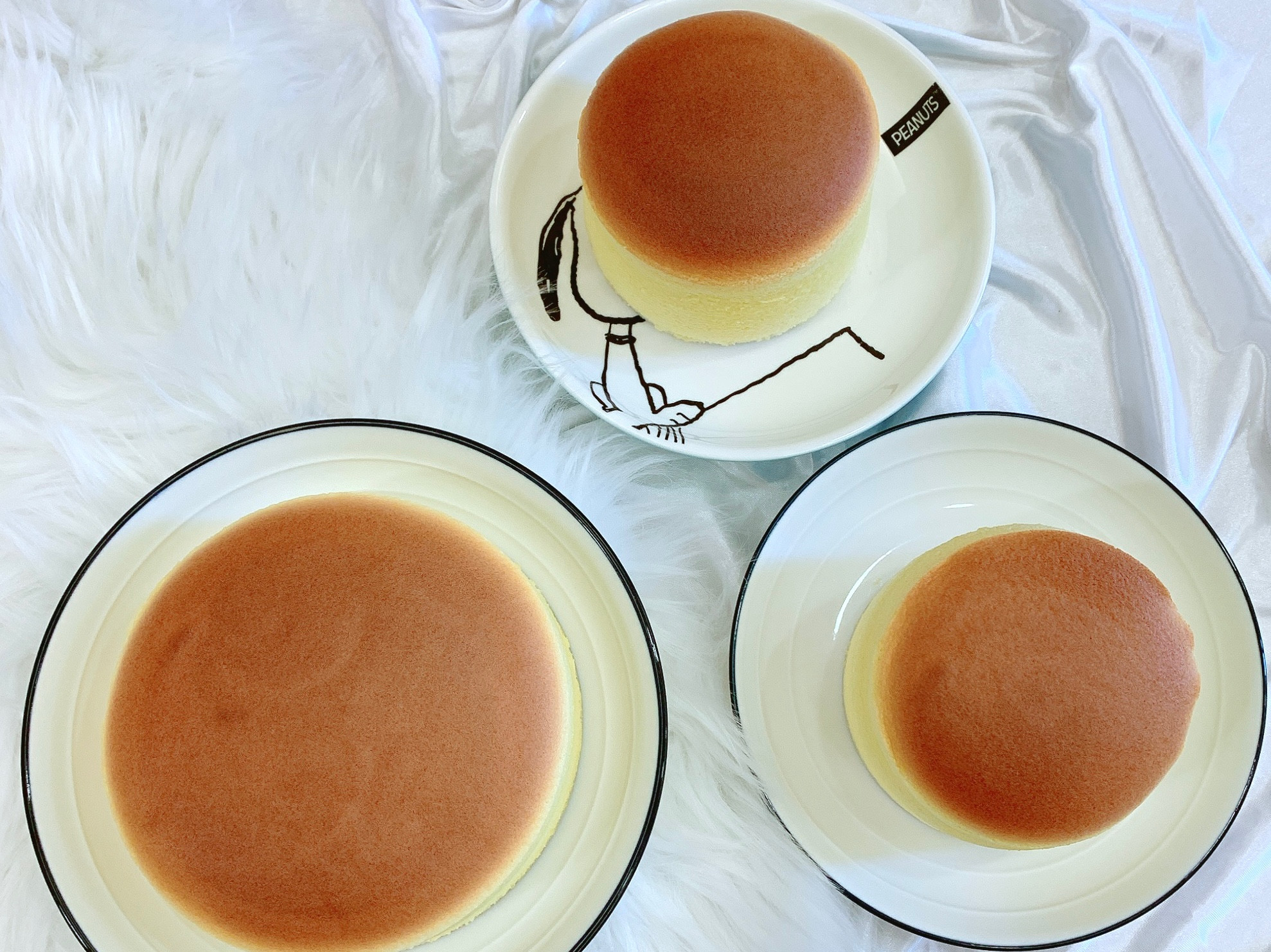 ☁️棉花糖般❤️軟綿綿輕乳酪蛋糕☁️