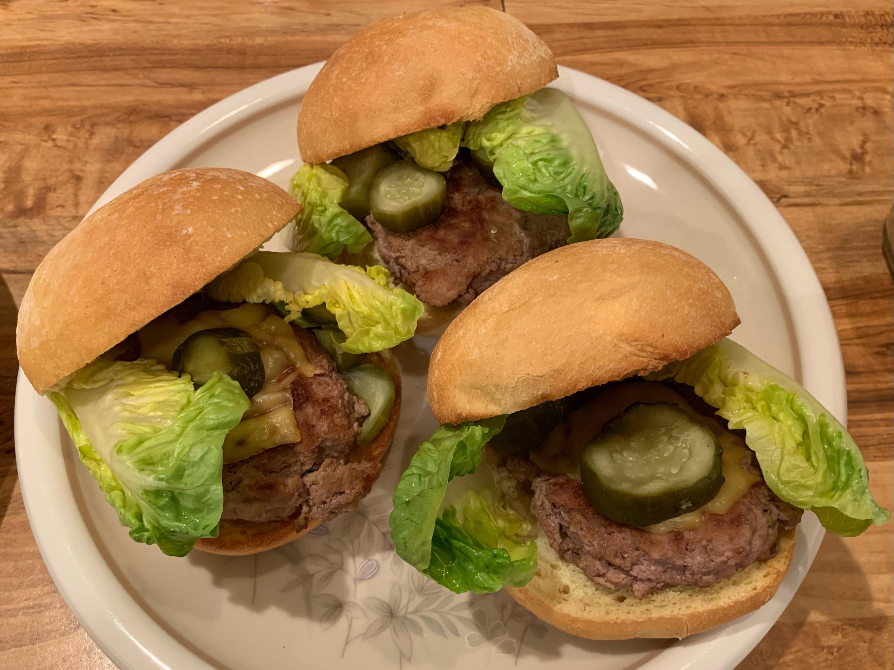 火雞肉漢堡Turkey Burger