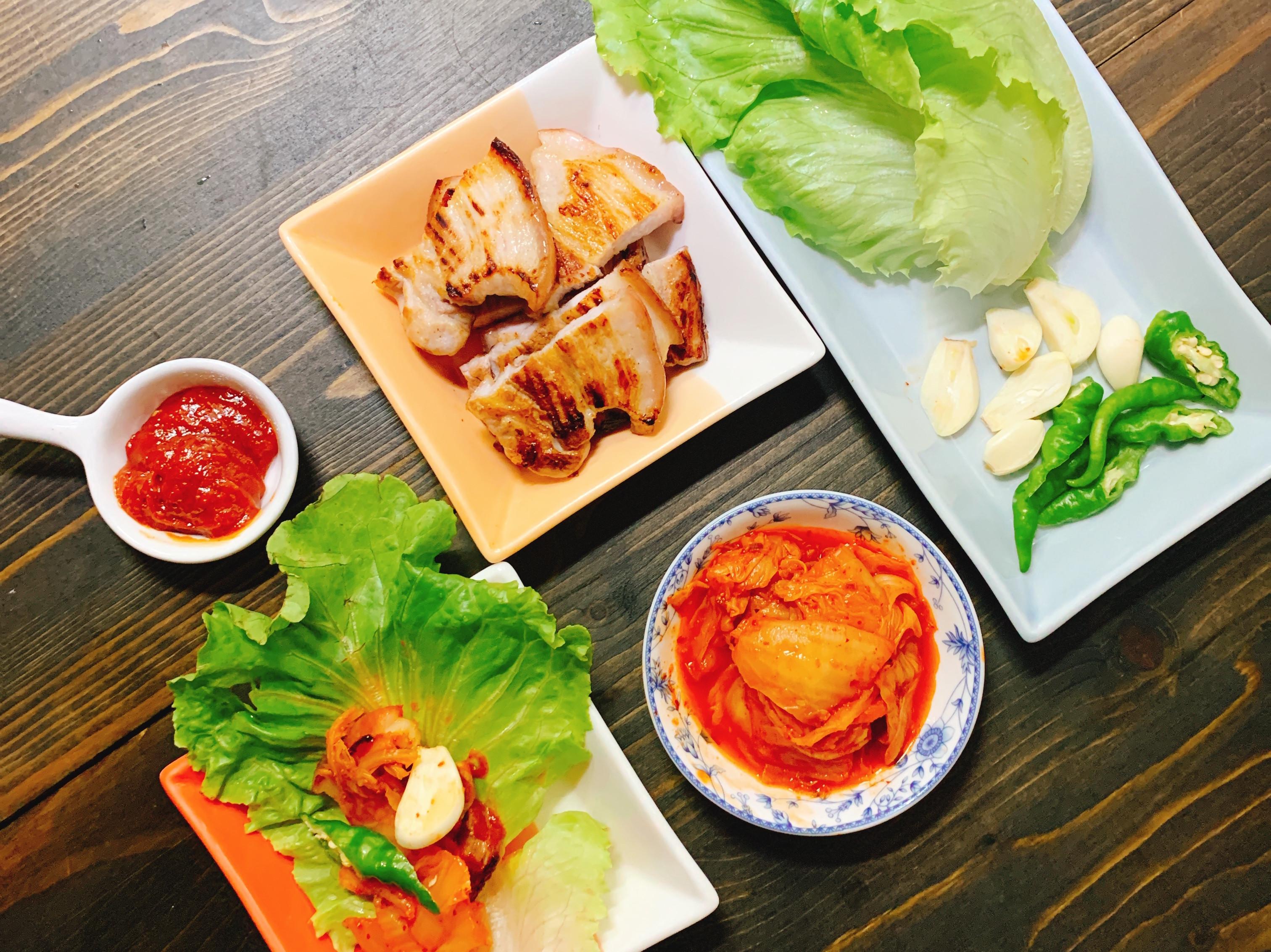 韓式鐵板豬五花