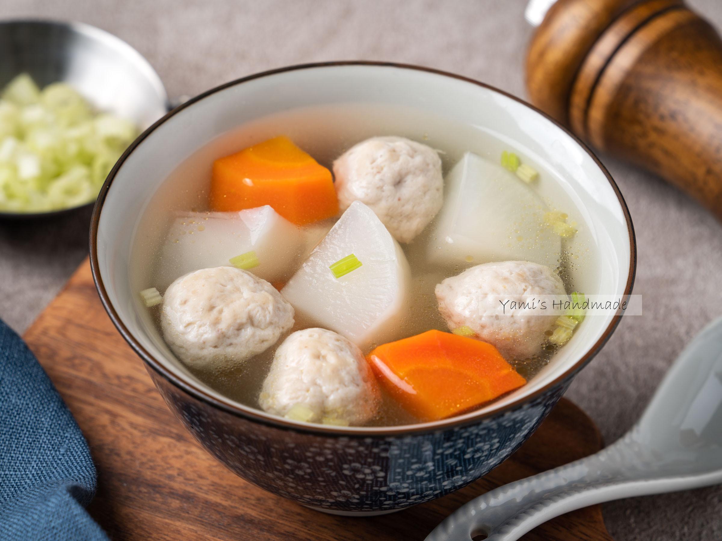 蘿蔔虱目魚丸湯【電鍋料理】