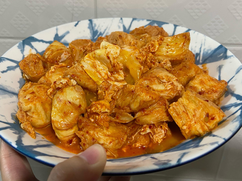周秉秉の韓式醬燒豆皮捲