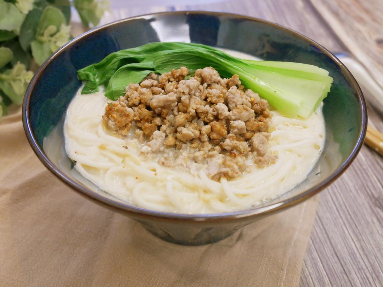 好開胃「日式擔擔麵」麻辣味、湯頭濃郁。